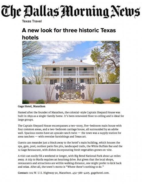 Dallas Morning News April 14