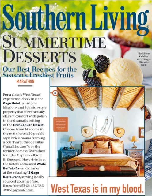 Southern Living Gage Hotel