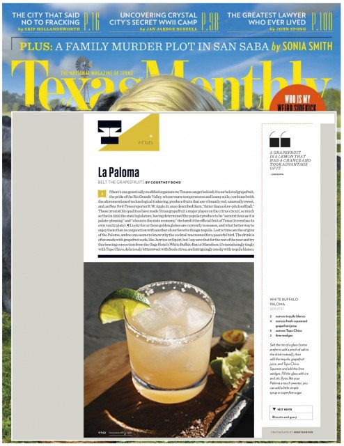 Texas Monthly Jan 15