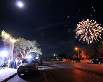 Fireworks at the Gage